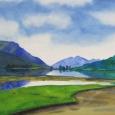 © Elizabeth Burin, Loch Leven II