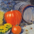 © Elizabeth Burin, Pumpkins at the Winery