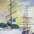 © Elizabeth Burin, Tall Ships